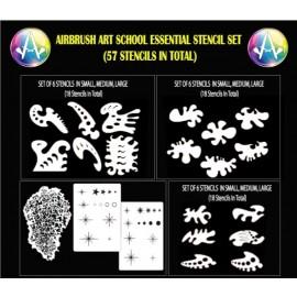 Essential Stencil Set - 57 Stencils