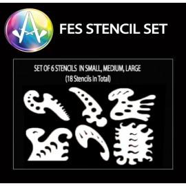 FES Stencil Set