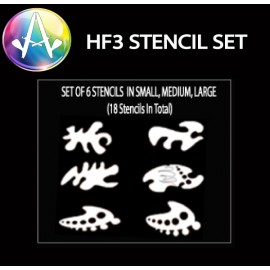 HF3 Curve Stencil Set