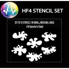 HF4 Curve Stencil Set